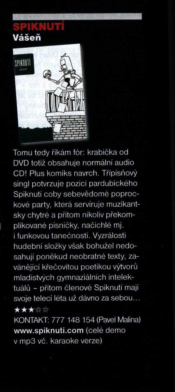 recenze CD Vášeň